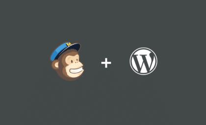 How to integrate WordPress andMailChimp