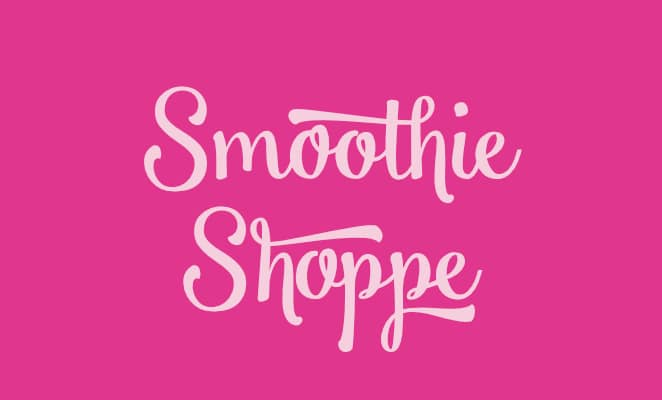 free-calligraphy-fonts-smoothie-shoppe