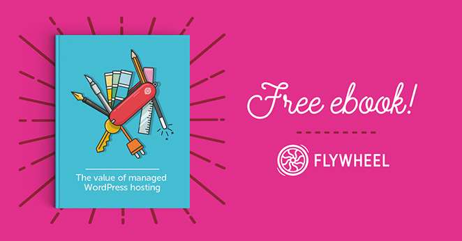 layout by flywheel why managed hosting ebook callout with pink background