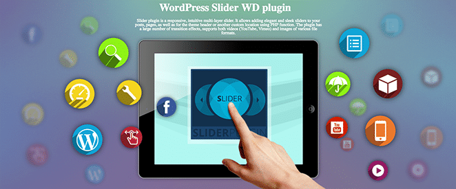 layout by flywheel best wordpress slideshow and gallery plugins slider by WD