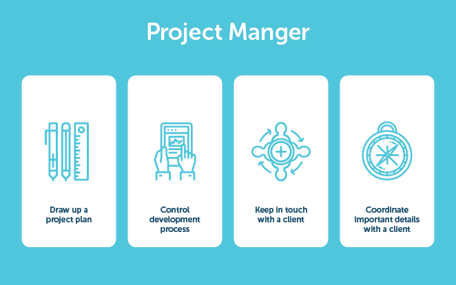 layout by flywheel web development team structure project manager