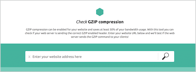 how to speed up wordpress site with gzip compression check gzip compression tool screenshot tutorial